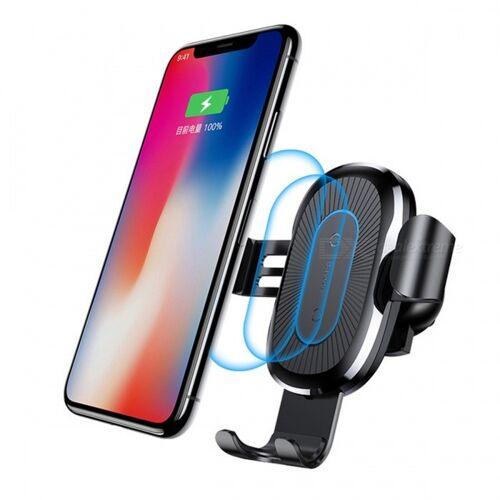 Baseus 10W QI Wireless-Schnellladegerät Kfz-Halterung Für IPHONE X Plus Samsung