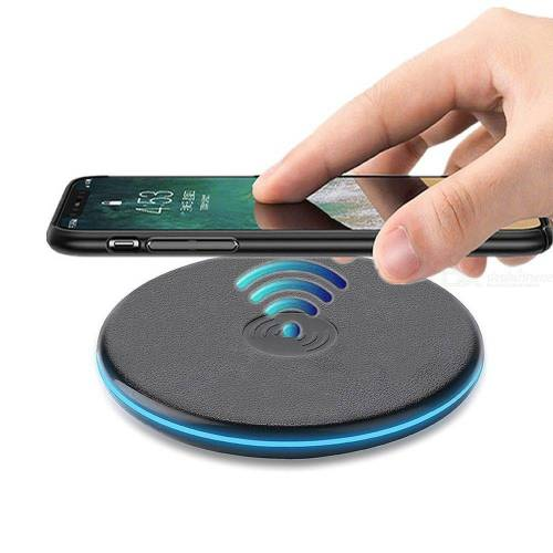 Cwxuan Ultra Thin Qi Wireless Charger Pad for iPhone X 8 Wireless Charging for Samsung Galaxy S7 S8 S9 Note 8 Mix 2S Huawei