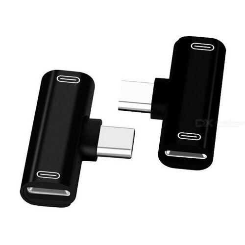 Typ C-Kopfhörer-Teiler 2 In 1 USB-Typ-C-Kopfhörer-Audio-Buchse Adapter
