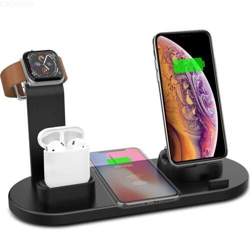 Olygus 4 In 1 Drahtloser Ladestation Dock Mit USB Für Apple Watch Iwatch 5 4 3 2 1, Airpods, Iphone 11 11 Pro X Xs XR Max 8