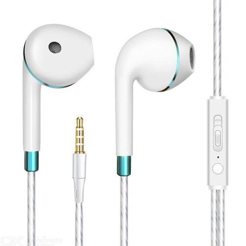Verdrahtete Kopfhörer In-Ear-HD Bass 3,5 Mm Klinke - Weiß