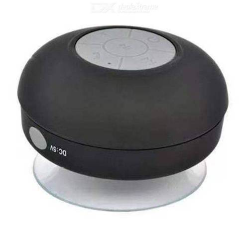 Wireless Shower Speaker Waterproof Bluetooth Bathroom Speaker with Suction Cup Built-In Mic Mini Outdoor Speaker