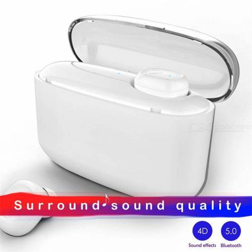 G5S Bluetooth 5.0 Wireless Earbuds Waterproof Noise Cancelling Stereo TWS Bluetooth Earphones With Mic Charging Case