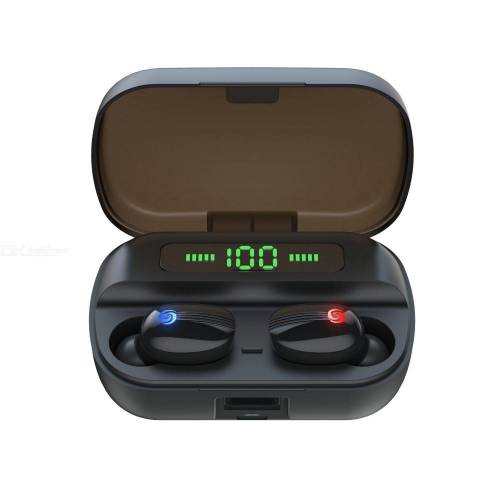 Wireless Bluetooth Earbuds Mini TWS Bluetooth 5.0 Earphones with Display