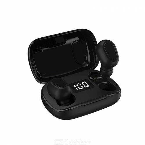 L21 Pro Bluetooth 5.0 Earphones In-Ear Bluetooth Wireless Earphones Withh Deep Bass LED Display