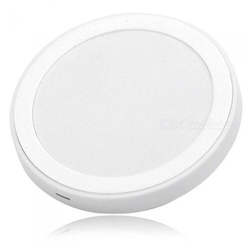 5V 1500mA QI Wireless Ladegerät für Samsung + More - Weiß