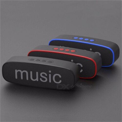 SC212 Bluetooth Speaker Mobile Wireless Car Audio Smart Portable Outdoor Subwoofer Speaker Support TF Card Black/Speaker