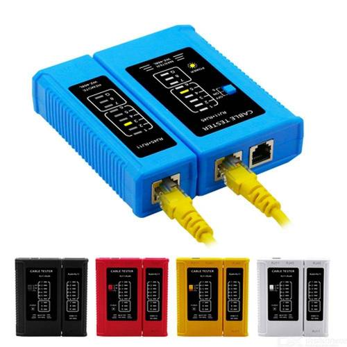 Netzwerkkabel RJ45 Leitungstester RJ11 Telefon Tester