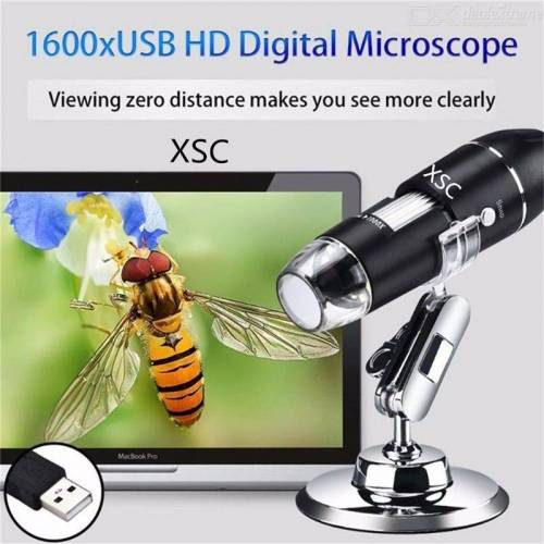 XSC Mikroskop 1600 Mal USB Digital-Mikroskop HD Elektronisches Mikroskop Industrie Mikroskop Handy-Reparatur-Mikroskop