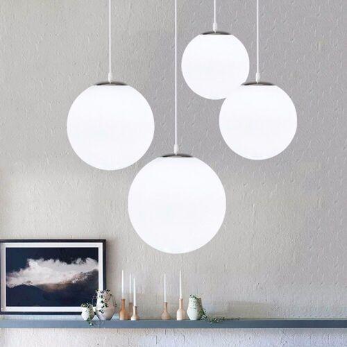Einfache Luftblasenglas Ball Kronleuchter Moderne Wohnzimmer Deckenleuchten
