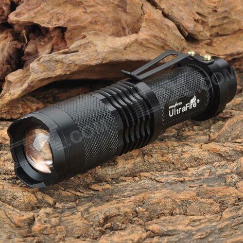 Ultrafire SH98 910lm 3-Modus-Weißlicht-Zoomtaschenlampe Mit XM-L T6