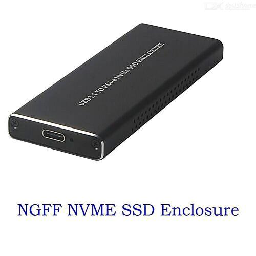 NVMe PCIE USB3.1 Festplattengehäuse M.2 Auf USB Typ C 3.1 Fall Festplattenlaufwerk