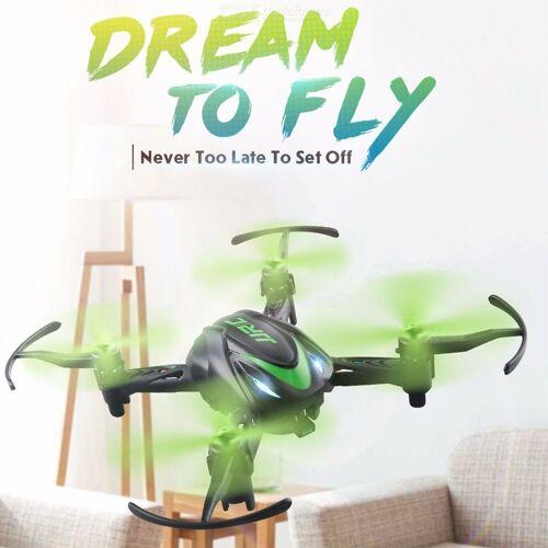 Vier-Achsen-Flugzeug Infrarot-Fernbedienung Flugzeug Indoor Kleine Drohne Fernbedienung Spielzeug Ein-Knopf-Tumbling