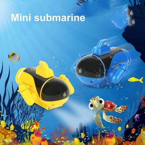 Mini RC U-Boot Kinder Fernbedienung Boot Schiff Schwimmbad Spielzeug Mit Licht