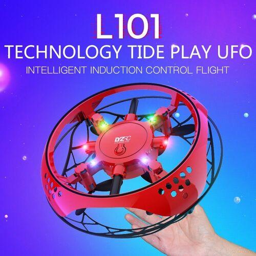 L101 Hand Bedient Mini Spielzeug Drohne UFO Mit Licht Spielzeug Fliegen 360-Grad-Flip