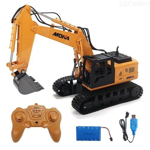 RC Bagger 2.4G 1: 12 Skala Volle Funktions Auto Fernbedienung Spielzeug Bau Für Kinder Kinder