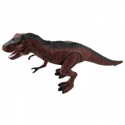 Infrared Ray Fernbedienung Dinosaurier-Spielzeug - Brown (3 * AAA)
