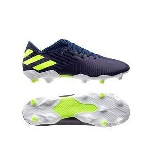 Adidas Nemeziz Messi 19.3 FG/AG - Blau/Signal Green/Glory Purple