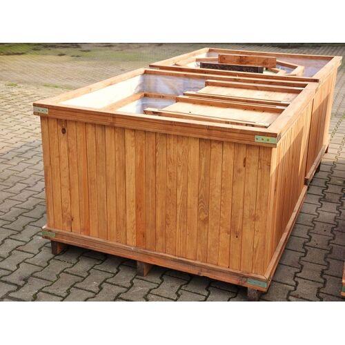 Holzkübel 120x120x65