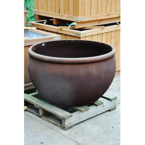 Pflanzkübel (Bowl Rusty) groß 93x54