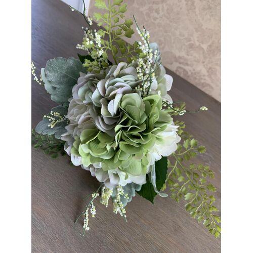 Hortensien Strauß täuschend echt Kunstblumen und Kunstpflanzen