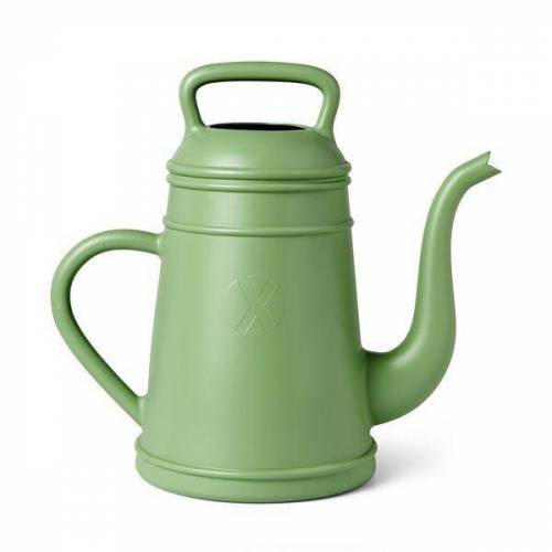 Gießkanne Lunge altes grün klein 8 Liter
