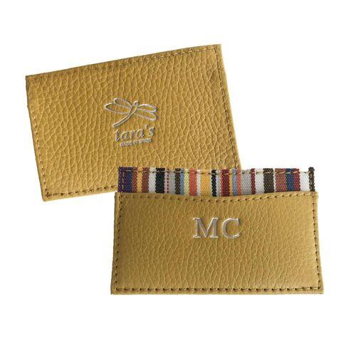 Tara's Kartenhalter aus Leder