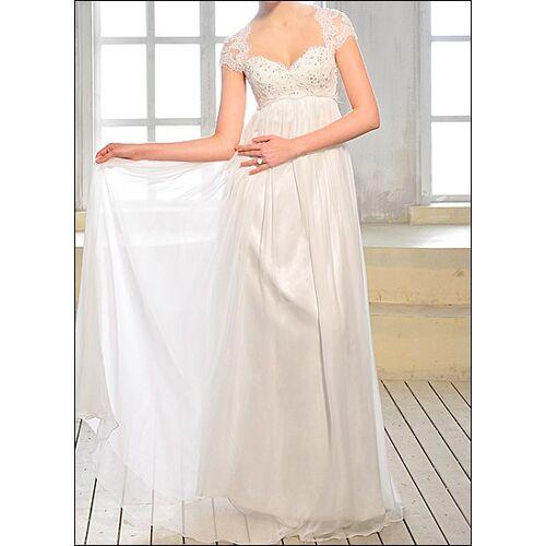 Lafanta Empire Brautkleid mit Ärmelchen