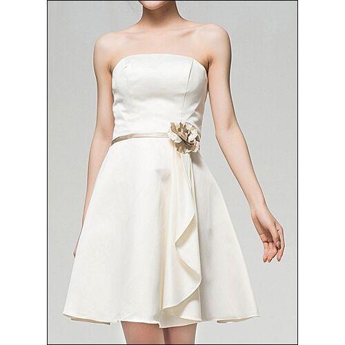 Lafanta Knielanges Brautkleid in A-Linie