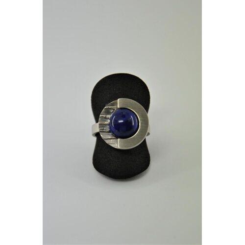 FSK Lapislazuli Ring Silber