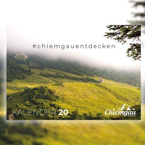 Chiemgau Entdecken - Wandkalender, Kalender  2020 - Chiemgau, Chiemsee, Bayern