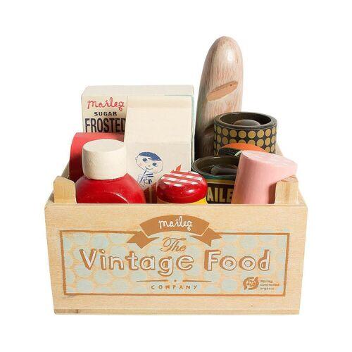 Maileg vintage food im holzkasten