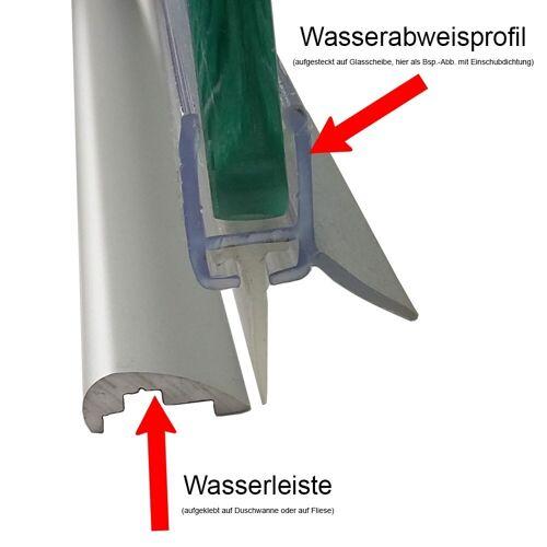 HSK Wasserabweisprofil inkl. Einschubdichtung