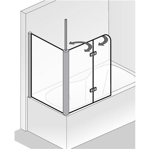 Serie Exklusiv HSK SEITENWAND zu Badewannenaufsatz Exklusiv