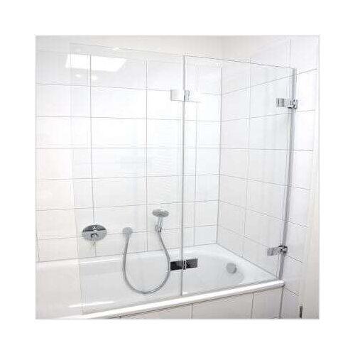 Schulte Davita Badewannenaufsatz 2-teilig 8 mm - Duschkabine