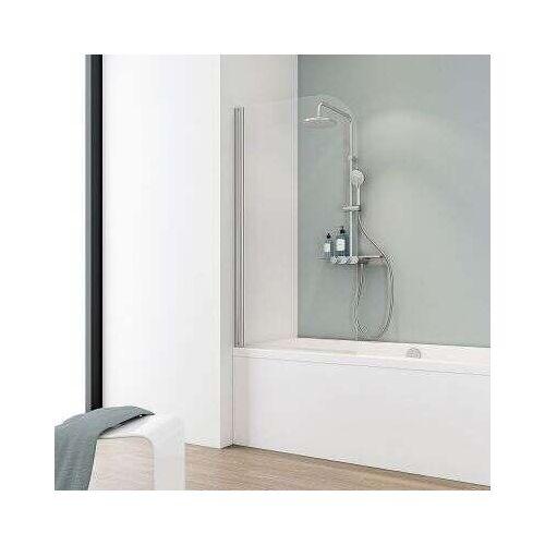 Schulte Alexa Style Badewannenaufsatz 140 1-teilig - Duschkabine
