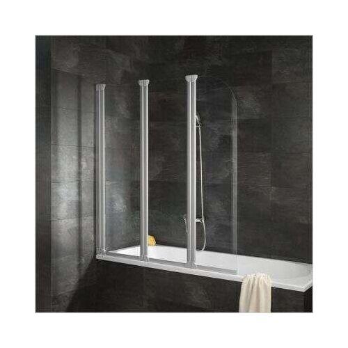 Schulte Alexa Style Badewannenaufsatz 3-teilig - Duschkabine