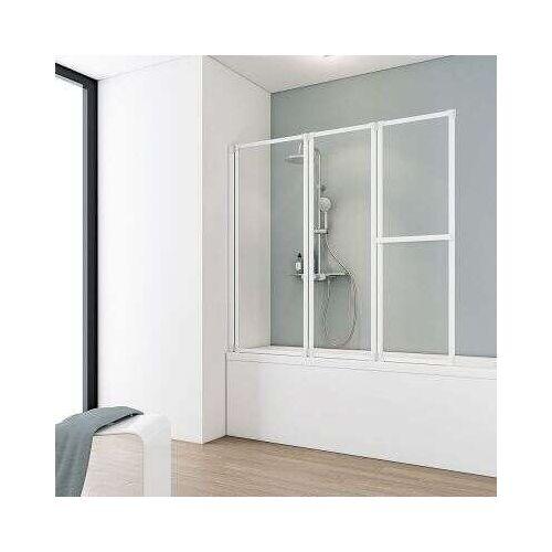 Schulte Komfort III Badewannenaufsatz 3-teilig - Duschkabine