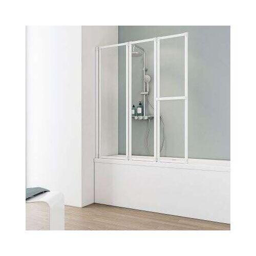 Schulte Komfort I Badewannenaufsatz 3-teilig - Duschkabine