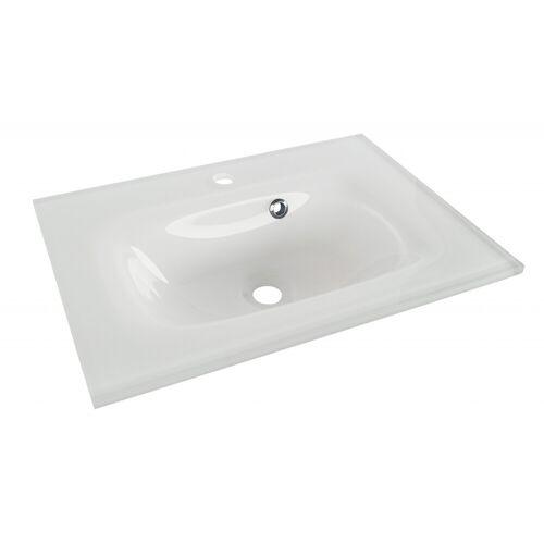 Fackelmann YEGA Waschbecken 60 cm aus Glas