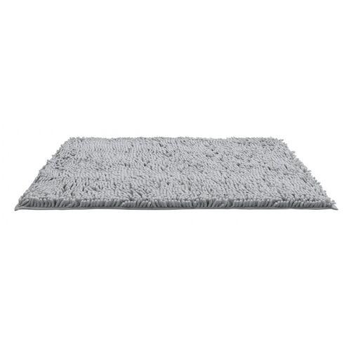 WENKO Badematte Chenille Light Grey, 50 x 80 cm, 23105100