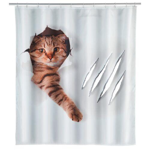 WENKO Duschvorhang Cute Cat, 23189100