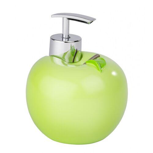 WENKO Seifenspender Apfel, Spülmittelspender, 295 ml