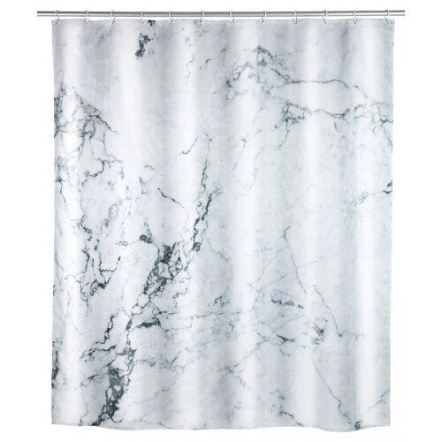 WENKO Duschvorhang Onyx, Polyester, 180 x 200 cm, waschbar