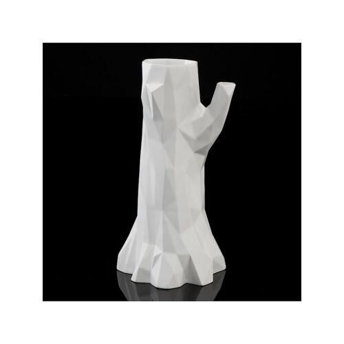 Kaiser Porzellan Vase Polygono Kaiser Porzellan weiß