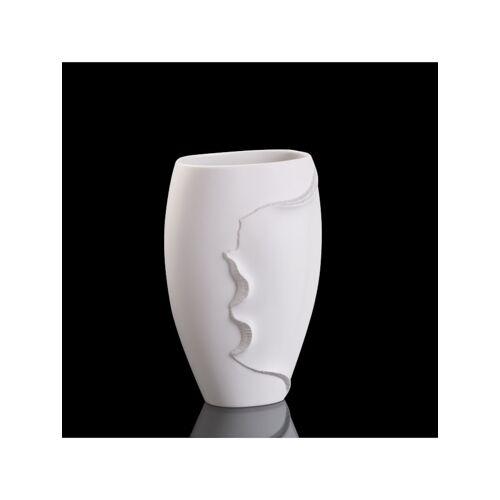 Kaiser Porzellan Vase Montana Kaiser Porzellan weiß