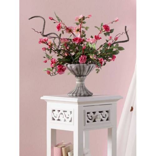 IGEA Wildrosen im Keramiktopf IGEA rosa