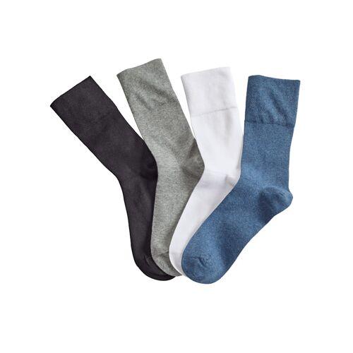 Blue Moon Relax-Socken Blue Moon Weiß::Schwarz::Grau::Blau