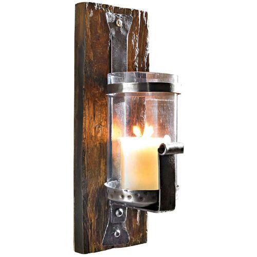 Living Wand-Kerzenhalter Living Braun