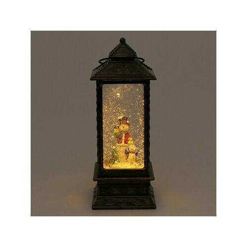 Sigro LED-Laterne mit Schneemann Sigro Bronze